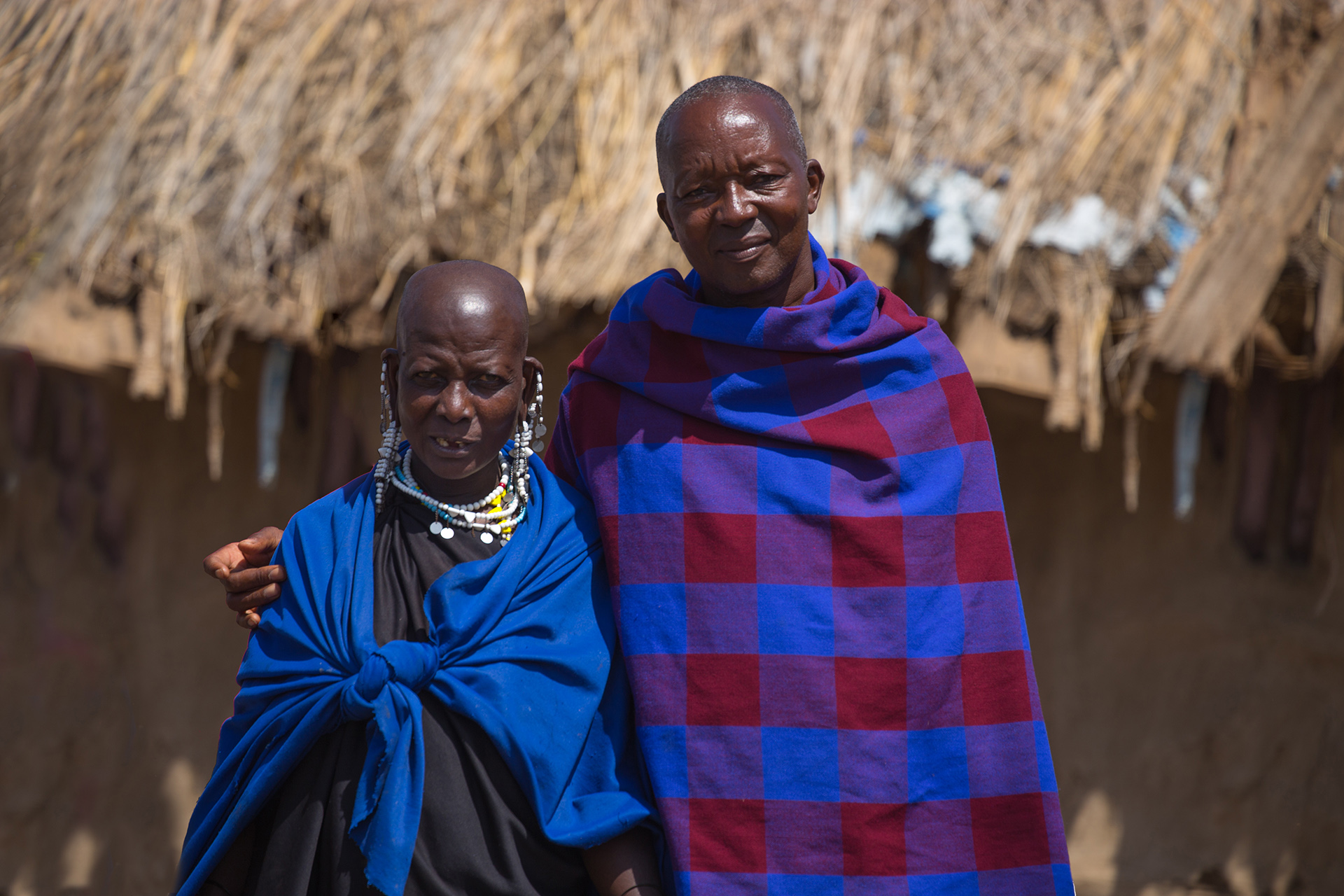 This Maasia couple live within a traditional Maasai enclosure. They have lived here all their lives, and now nearly 70 years later, they talk of the massive change in the landscape they have witnessed.