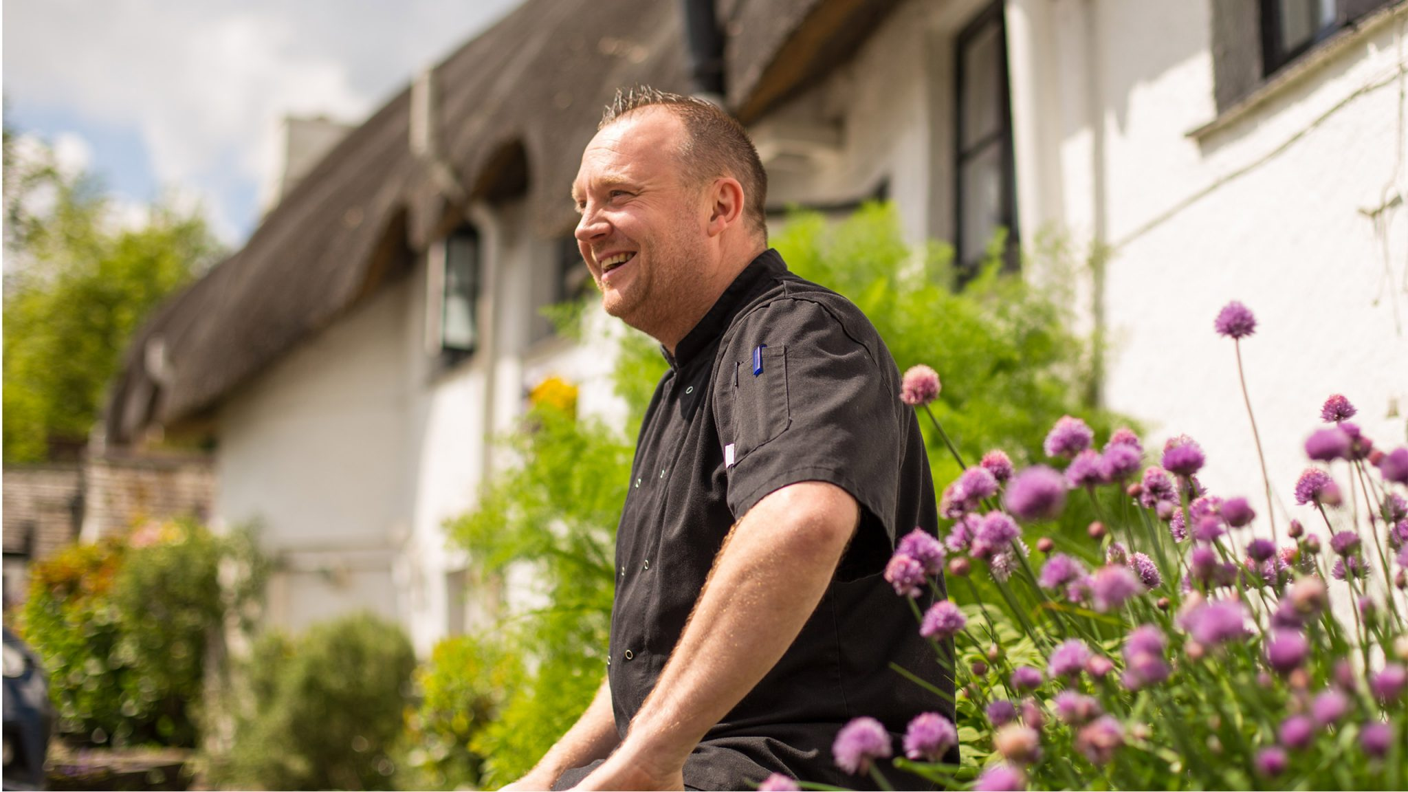 Head Chef at The Cott Inn, Dartington Devon.