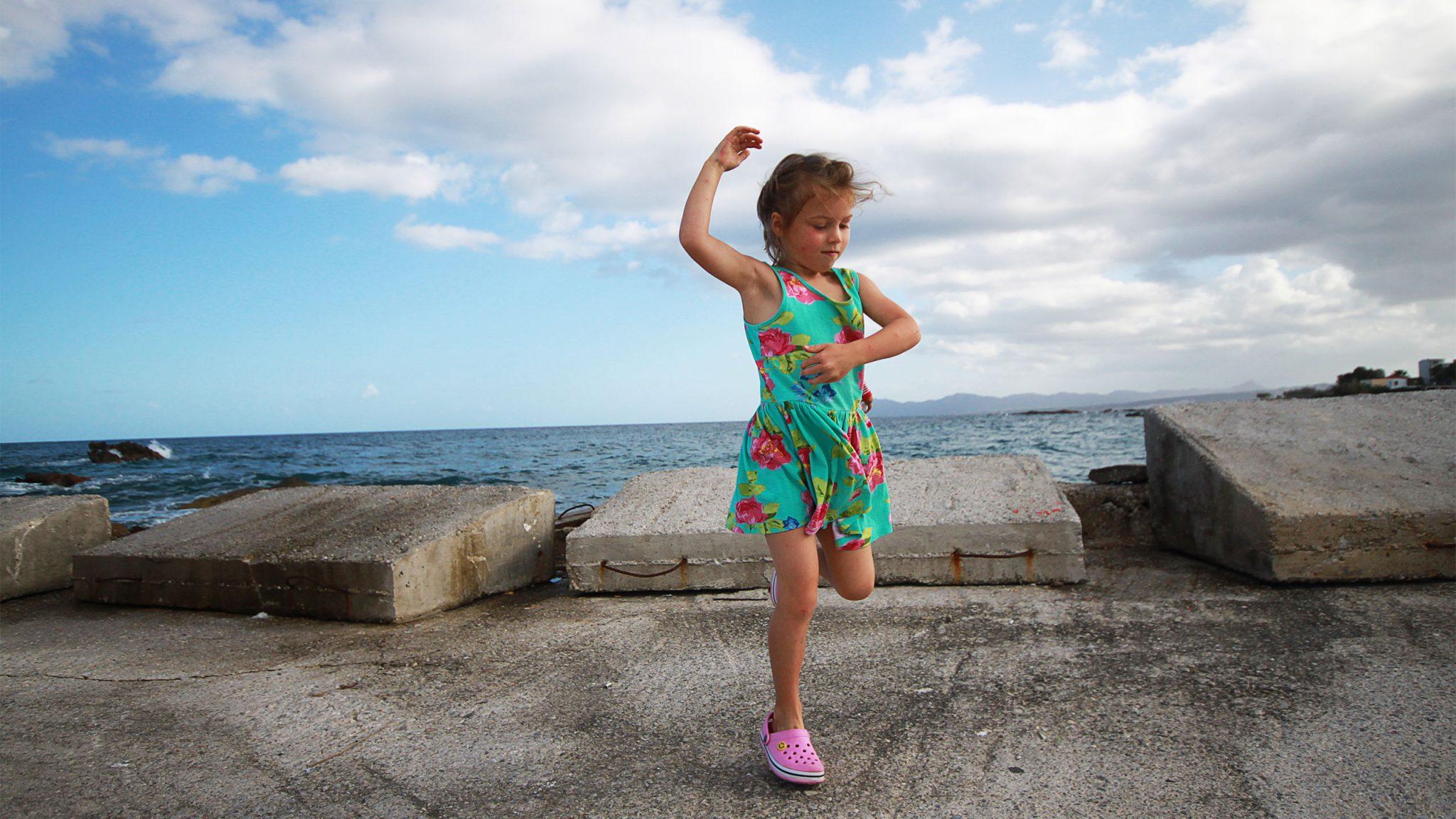 Crete Greek islands. The joy of Crete never fails to start a dancing frenzy.