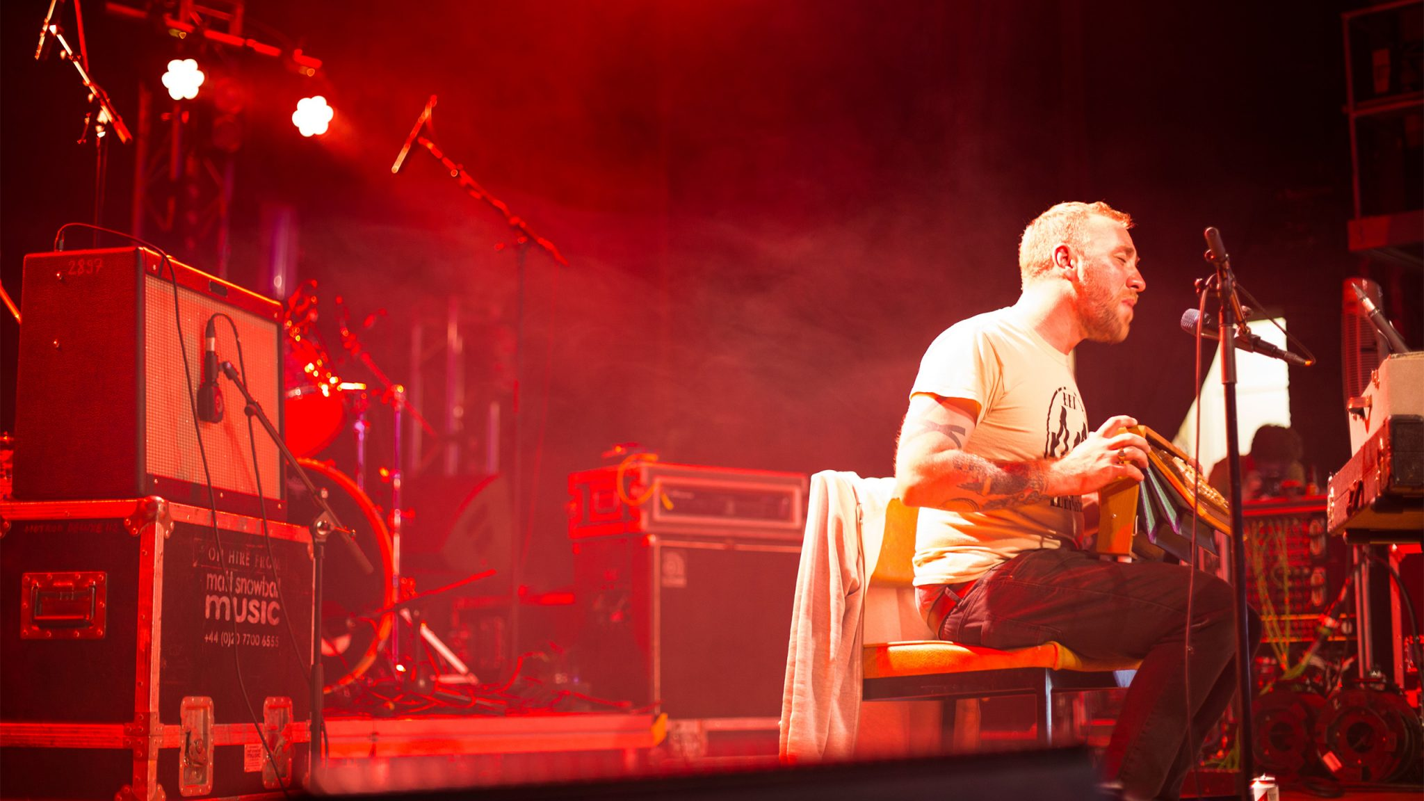 Sea Change Festival 2016, organised by Drift Music in Totnes Devon.