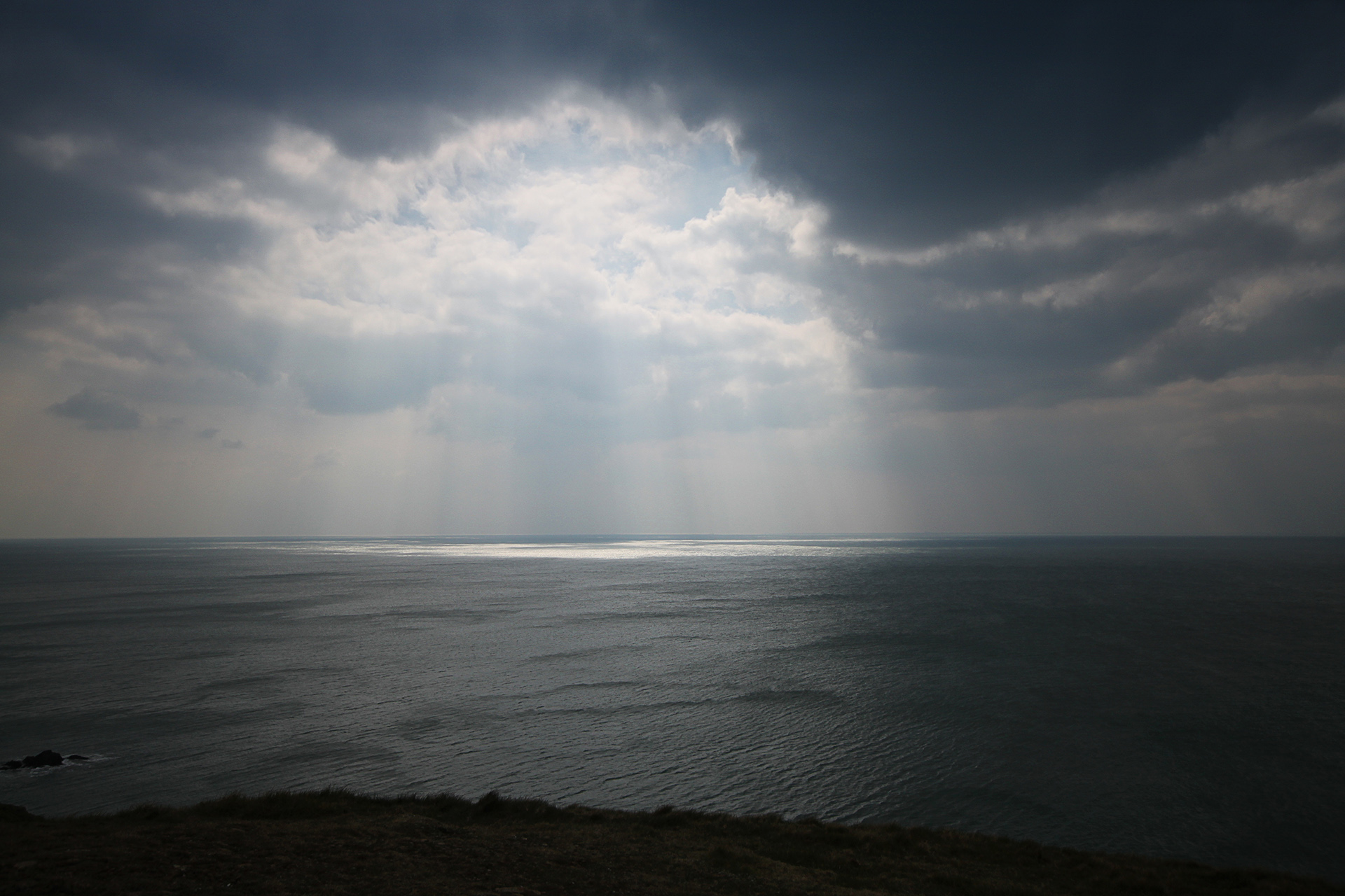 Hope Cove, Seascape. South Devon, UK.