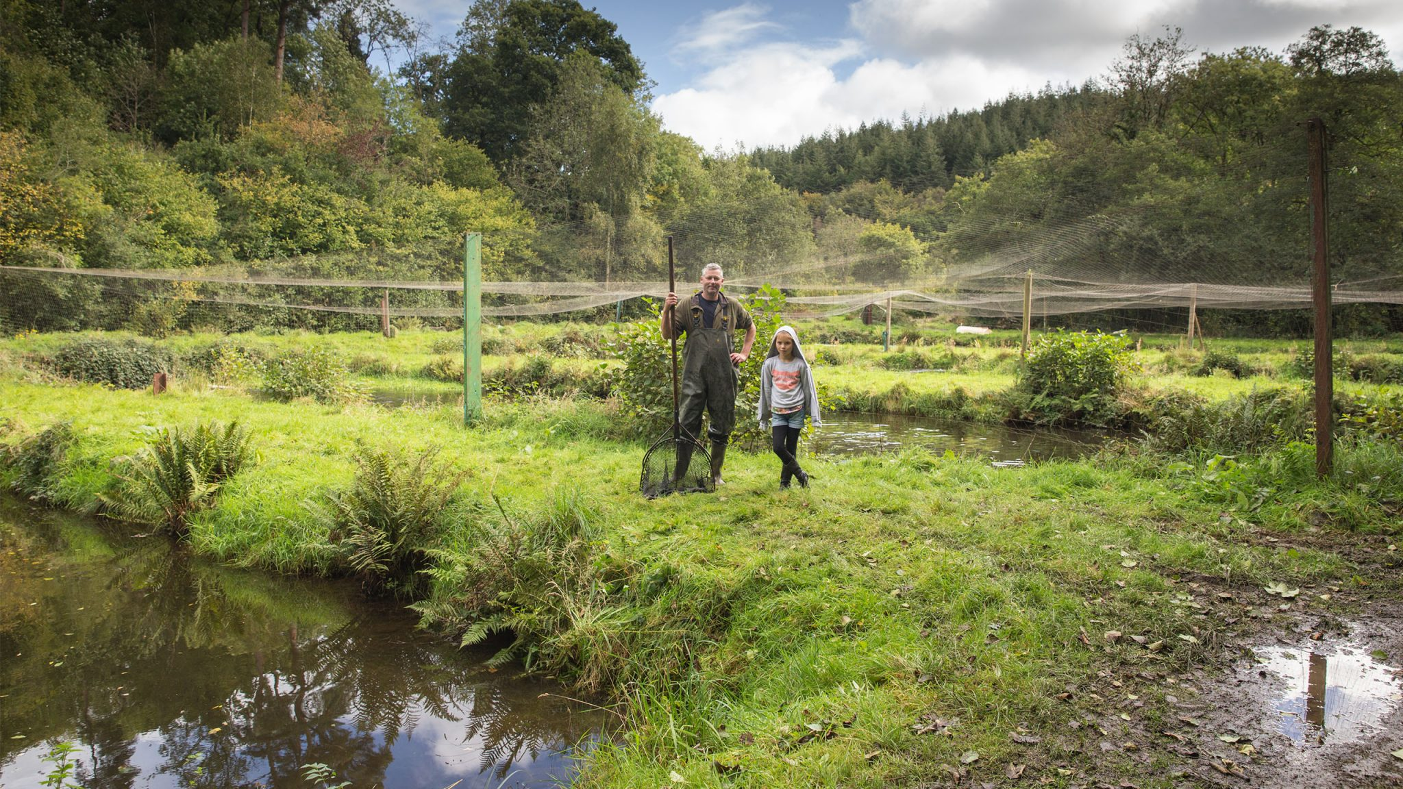 Portraits Commissioned for Rainbow Valley Trout Farm, and established hatchery and smoke-house set in idyllic Exmoor countryside.
