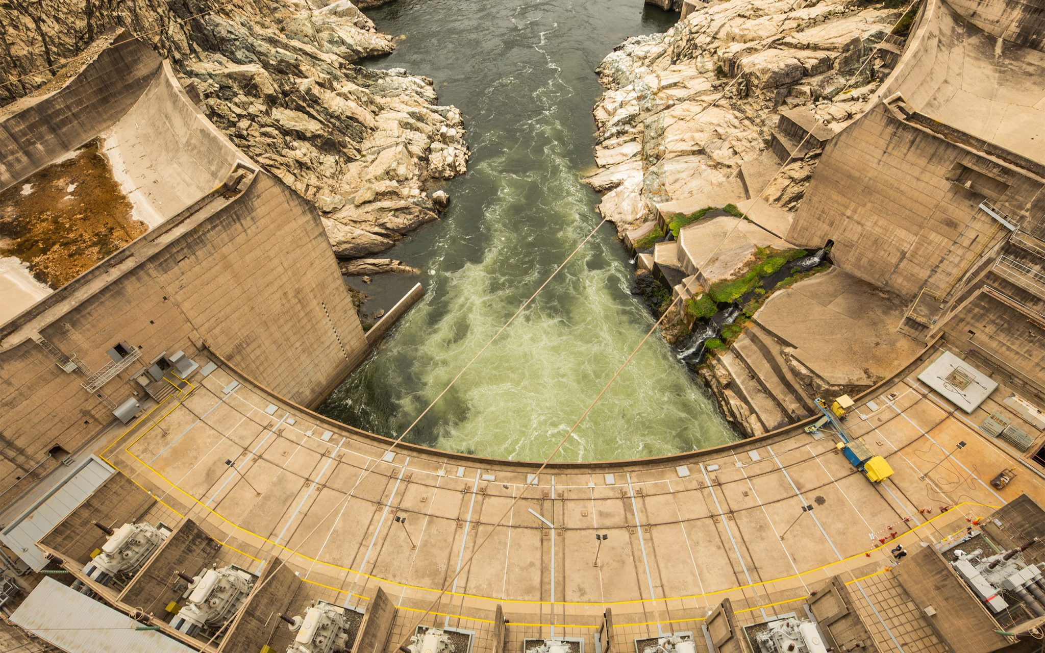 The Rapel Dam - a Hydroelectric Dam in General Bernardo O'Higgins Region, Chile. Carey Marks Photography