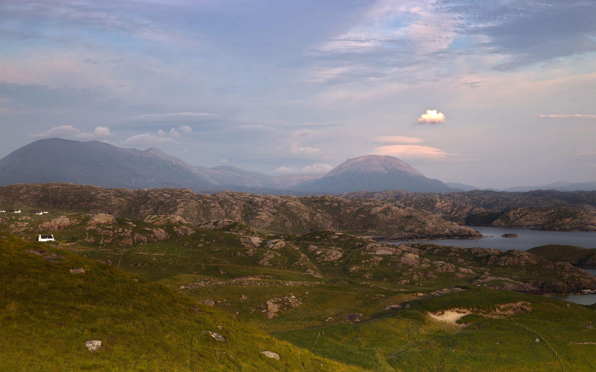 Carey Marks Photography, Documentary Photography, nature, environmental science, Mountains, Landscape, Highlands, Scottish Highlands, Lairg, Sutherland, Vista, Panorama, Landscape photography, Shegra, Balchrick